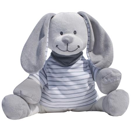 DooDoo® Plush Bunny -  Grey