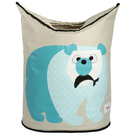 Picture of 3Sprouts® Storage Bin Polar Bear