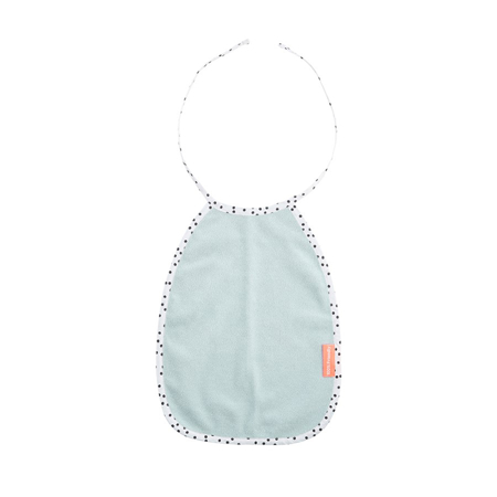 Picture of Done by Deer® Cotton Pullover Terry Bib, Happy Dots