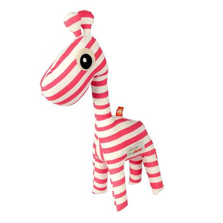 Picture of Done by Deer® Aktivnostna ropotuljica žirafa Raffi - Svetlo Roza