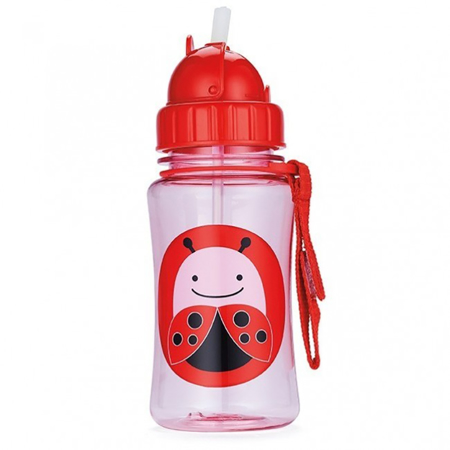 Picture of Skip Hop® Straw Bottle Ladybug