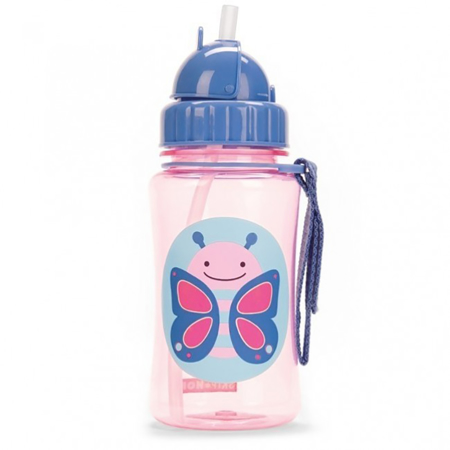 Picture of Skip Hop® Straw Bottle Butterfly