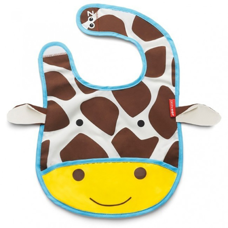 Picture of Skip Hop® Tuck-Away Bib Giraffe