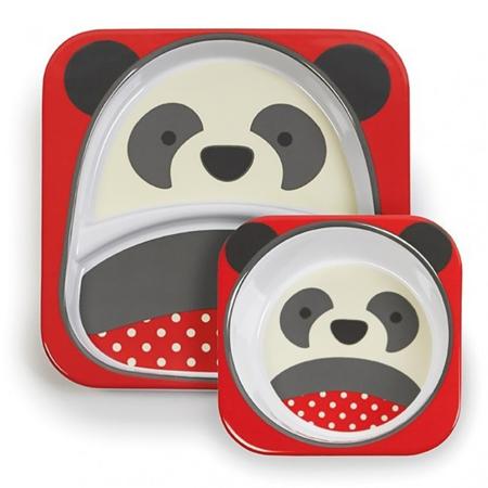 Picture of Skip Hop® Melamine Plate&Bowl Set Panda