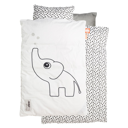 Picture of Done By Deer Elphee Bedlinen - White