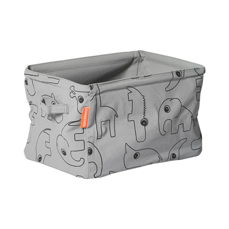 Picture of Done By Deer Soft Storage Doublesided - Grey
