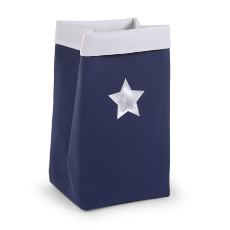 Picture of Childhome® Large Canvas Box - Navy