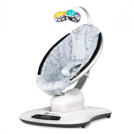 Picture of 4Moms® MamaRoo 4.0 PLUSH Silver