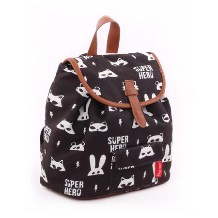 Picture of Kidzroom® Backpack Black&White Super Hero