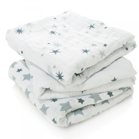 Picture of Aden+Anais® Muslin Squares 3-Pack Twinkle (70x70)