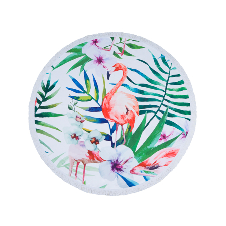 Picture of Olala Round Beach Towel - Jungle Fever
