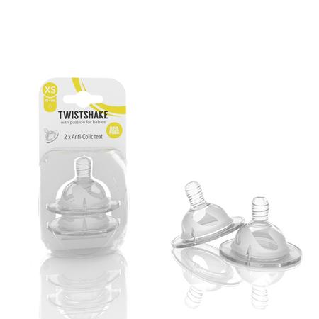 Picture of Twistshake® 2x Anti-Colic Teat - XS (0M+)