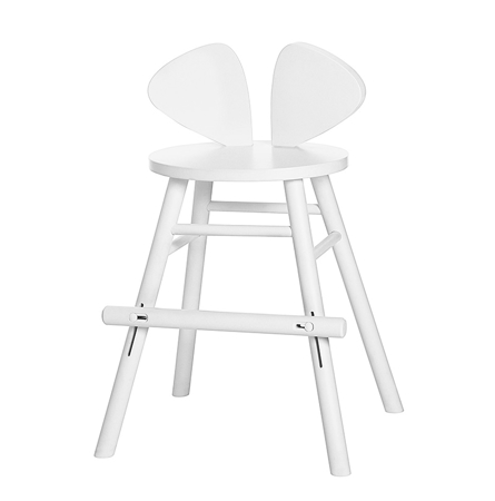 Picture of NoFred® Mouse Chair Junior White