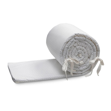 Picture of CamCam® Crib Bumper With Lining Grey Wave (360x30)
