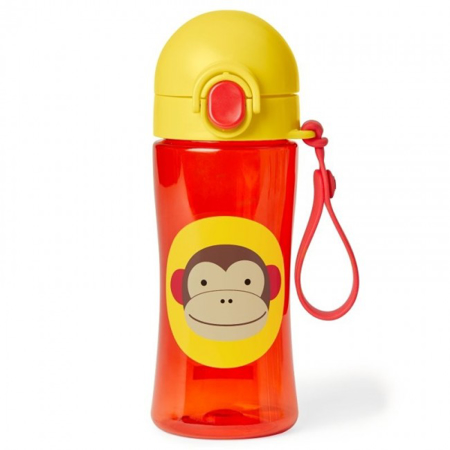 Picture of Skip Hop® Lock-Top Sports Bottle Monkey