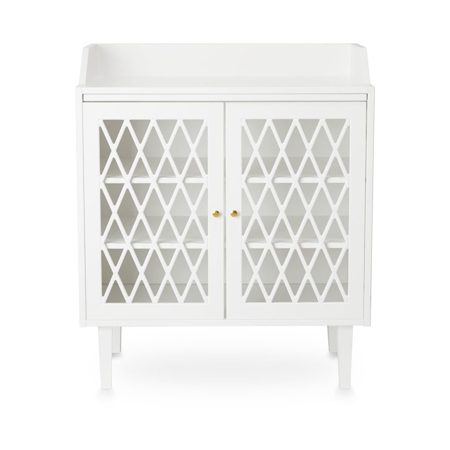 Picture of CamCam® Harlequin Changing Table White