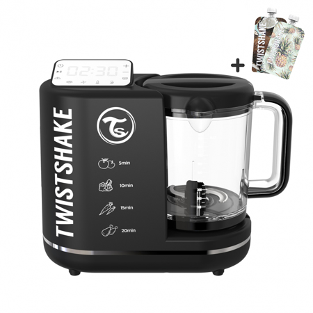 Picture of Twistshake Baby Food Processor 6in1 Black