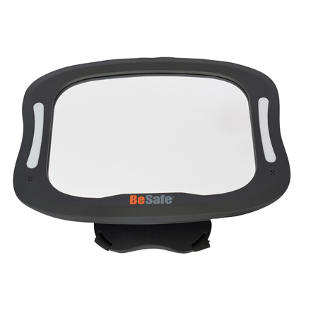 Picture of BeSafe® Baby Car Mirror With LED Lights