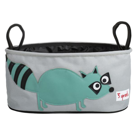 Picture of 3Sprouts® Stroller Organizer Raccoon