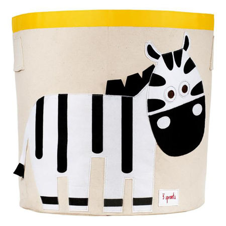 Picture of 3Sprouts® Storage Bin Zebra