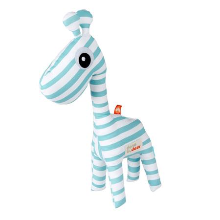Picture of Done by Deer® Aktivnostna ropotuljica žirafa Raffi - Svetlo Modra