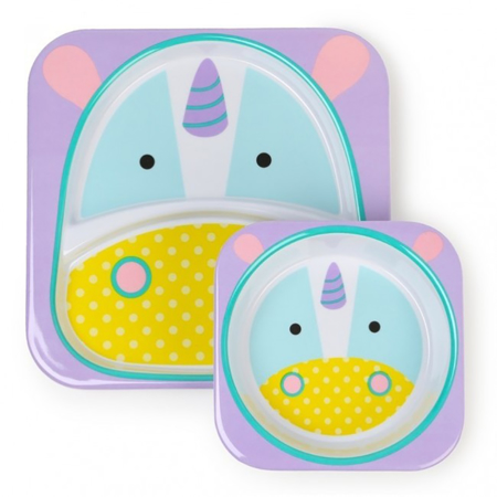 Picture of Skip Hop® Melamine Plate&Bowl Set Rhino