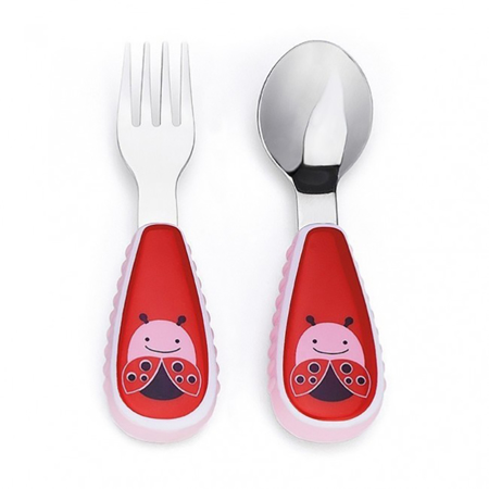 Picture of Skip Hop® Fork&Spoon Ladybug