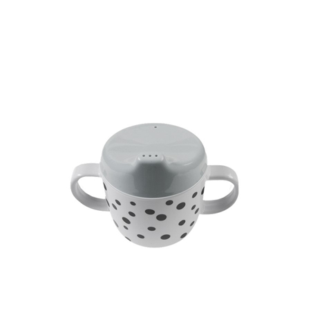Picture of Done By Deer 2-Handle Spout Cup Happy Dots