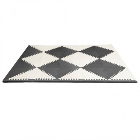 Picture of Skip Hop® Playspot Geo Foam Floor Tiles Black/Cream