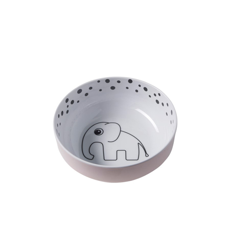 Picture of Done By Deer Happy Dots Yummy Bowl - Powder