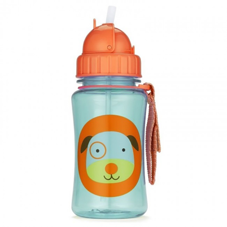 Picture of Skip Hop® Straw Bottle Puppy