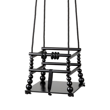 Picture of Done by Deer®  Wooden Swing Black