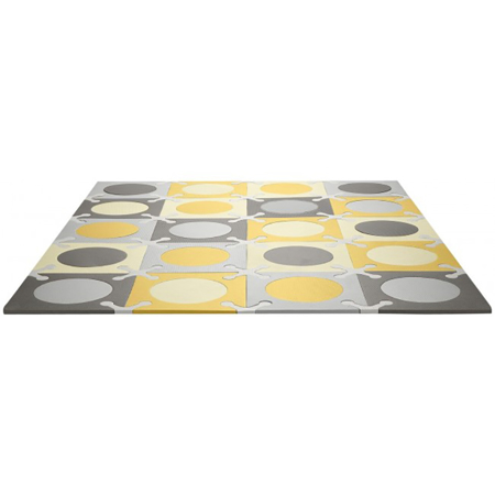 Picture of Skip Hop® Playspot Geo Foam Floor Tiles Grey/Gold
