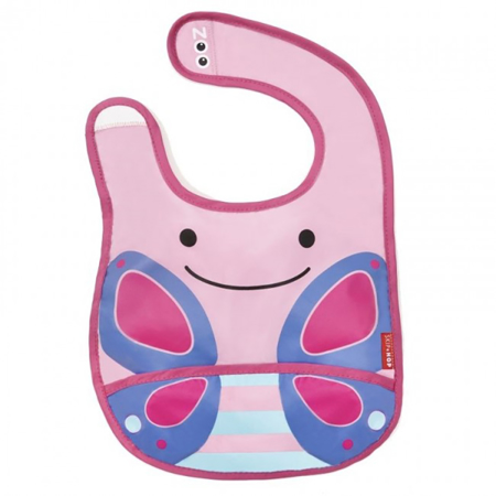 Picture of Skip Hop® Tuck-Away Bib Butterfly
