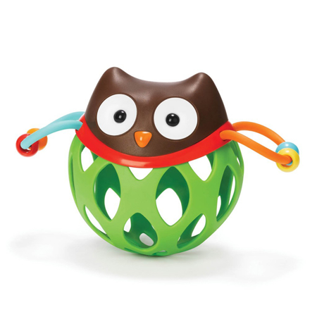 Picture of Skip Hop® Explore&More Roll-Around Rattles Owl