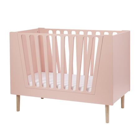 Picture of Done By Deer Baby Cot 60x120 cm - Powder