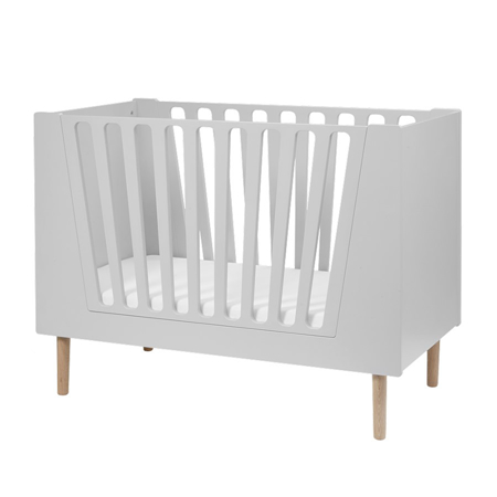 Picture of Done By Deer Baby Cot 60x120 cm - Grey
