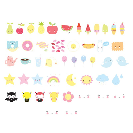 Picture of A Little Lovely Company® Lightbox Set - Kawaii
