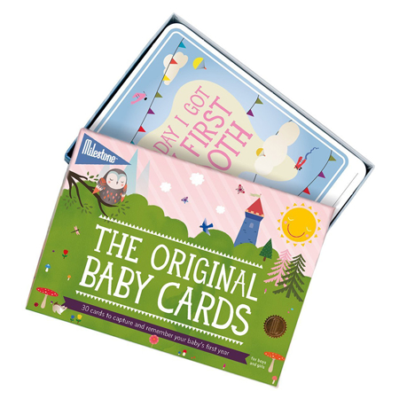Milestone Baby Cards - Twins' First Year - Original Design