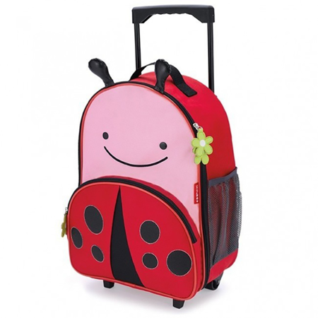 Picture of Skip Hop® Kids Rolling Luggage Ladybug