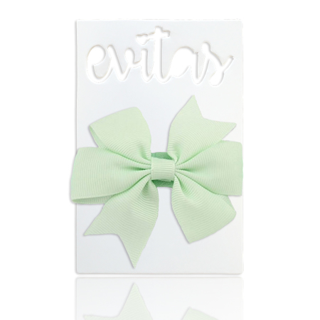 Picture of Elastic Bowknot Pastel Green