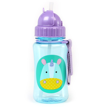 Picture of Skip Hop® Straw Bottle Unicorn
