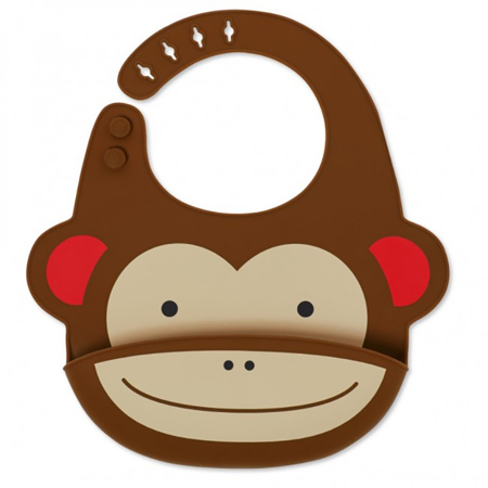 Picture of Skip Hop® Silicone Bib Monkey