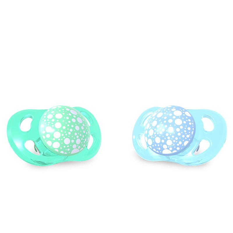 Twistshake 2x Pacifier Pastel Blue Green 0 6 Evitas