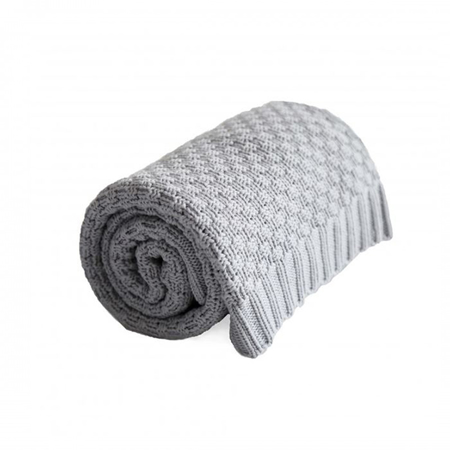 Picture of Effiki® Cotton Baby Blanket - Grey
