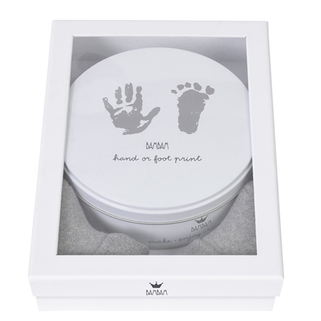 Immagine di BamBam® Pacco regalo impronta mano o piede + calzini bimbi