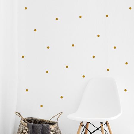 Immagine di Pick Art Design® Adesivo da parete Circoli Gold