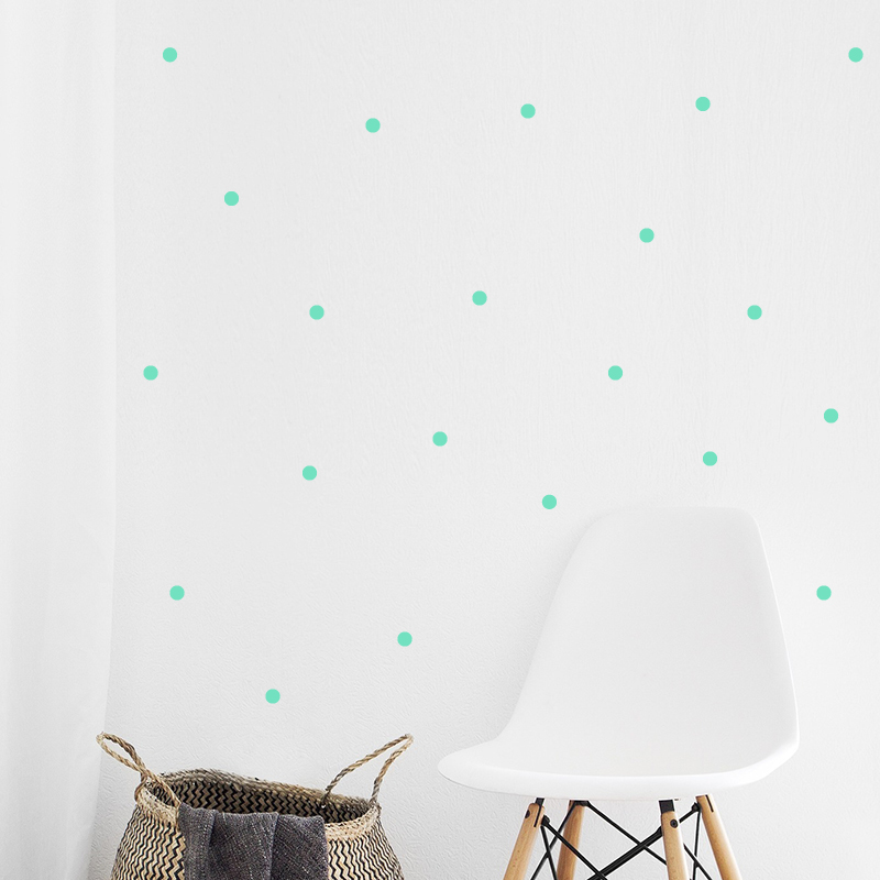 Picture of Pick Art Design® Wall Sticker Mint Circles