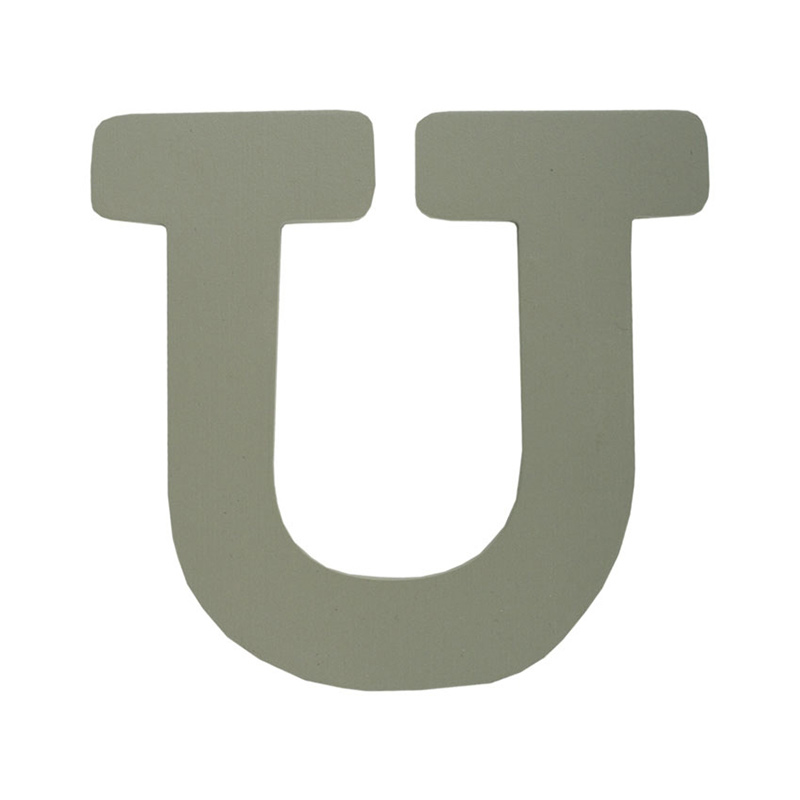 Picture of BamBam® Wooden Letters Grey - U