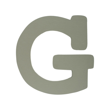 Picture of BamBam® Wooden Letters Grey - G